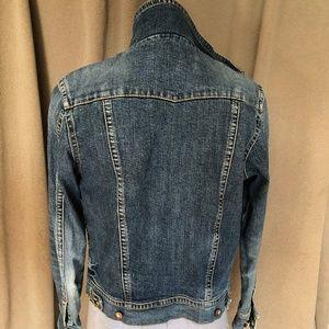 Seven 7 for all Mankind Medium wash jean jacket XL